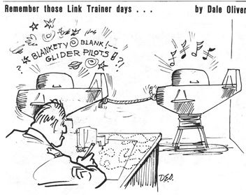 Link Trainer Cartoon by Dale Oliver