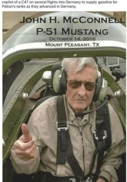 John McConnell in a P-52, Oct 2016