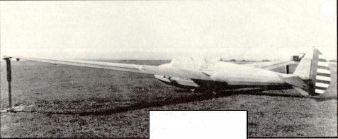 Laister-Kauffman TG-4A Sailplane